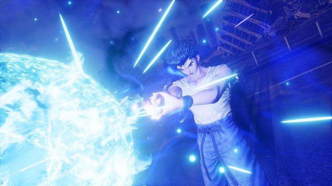 Yusuke e Toguro, de Yu Yu Hakusho, estarão jogáveis em Jump Force