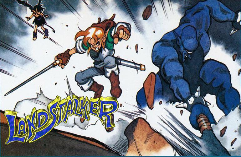 Landstalker – Clássico RPG de ação em visão isométrica