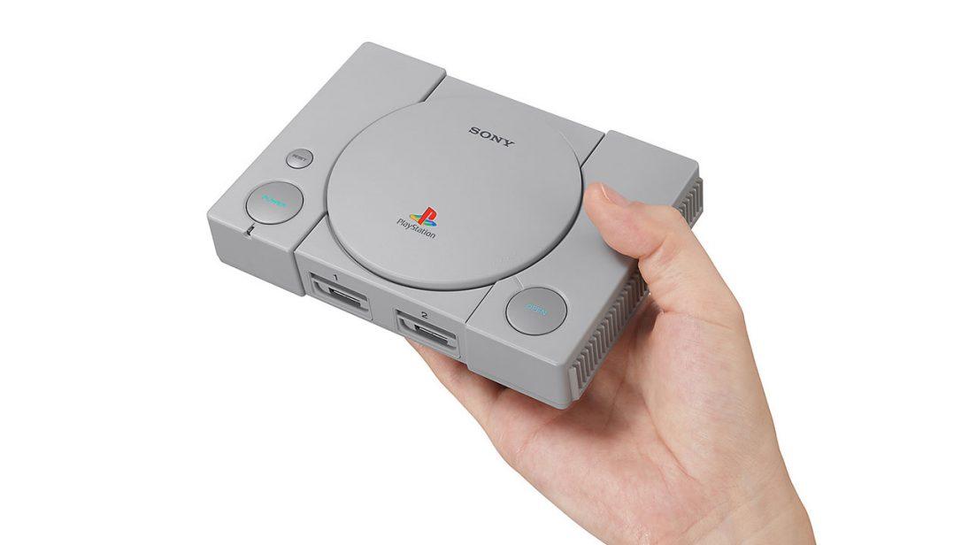 Com 20 jogos, PlayStation Classic chega no dia 3 de dezembro por US$ 100