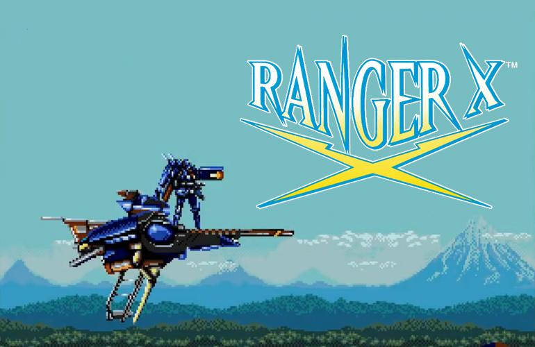 Ranger-X – O jogo de mechas para Mega Drive!
