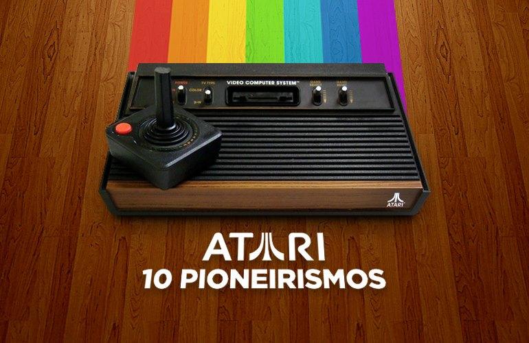 Joystick wireless e jogos por download? Conheça 10 pioneirismos do Atari 2600!