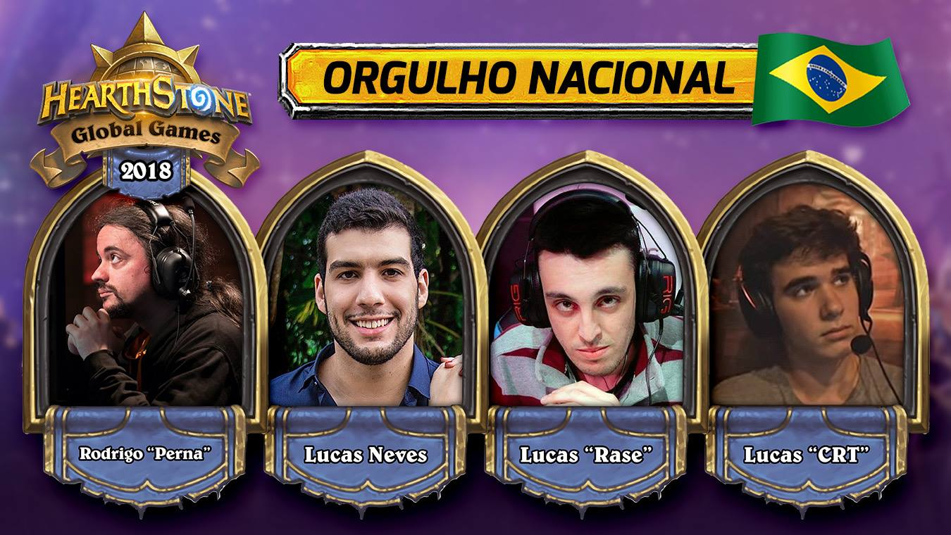 Pro Players brasileiros de Hearthstone