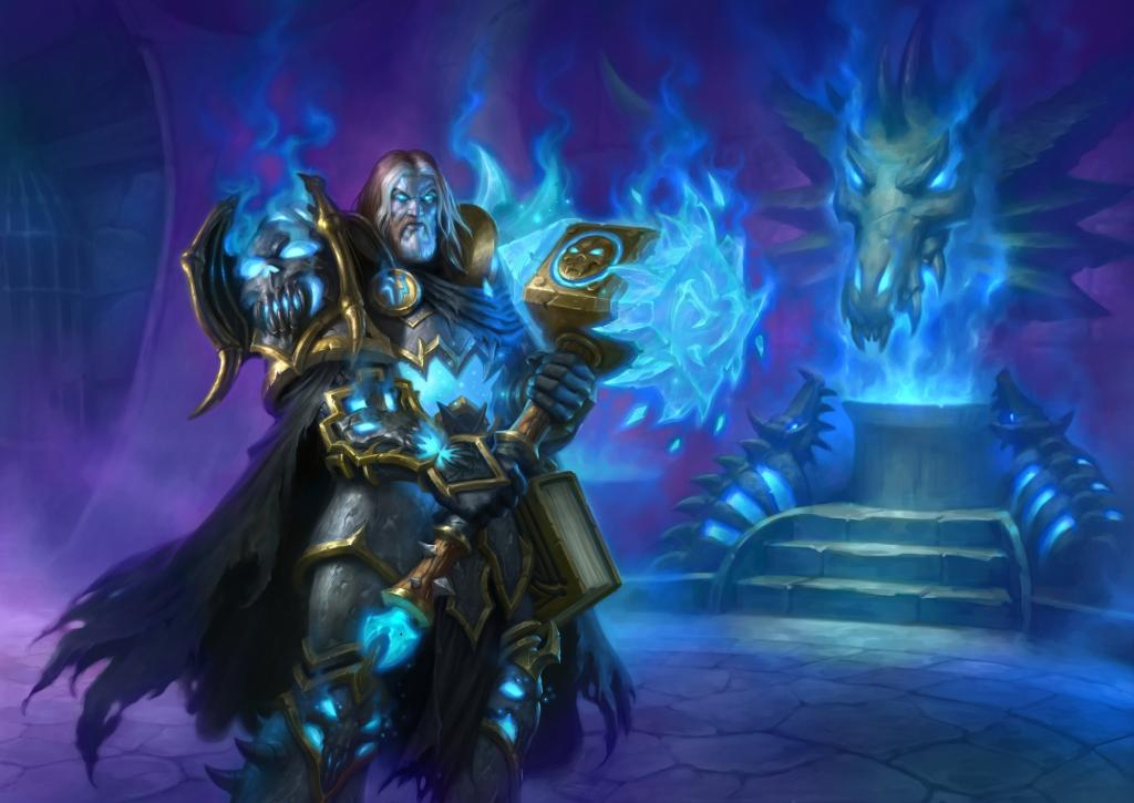 Uther of the Ebon Blade - Hearthstone