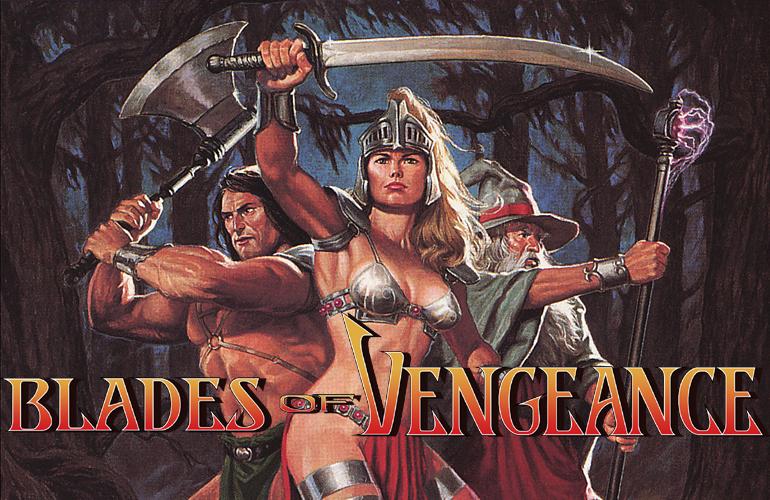 Blades of Vengeance – Muita ação e Fantasia Medieval neste game para Mega Drive!