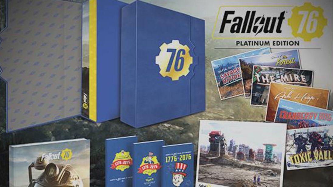 Fallout 76: Platinum Edition custa mais de R$ 400 mas não vem com o jogo