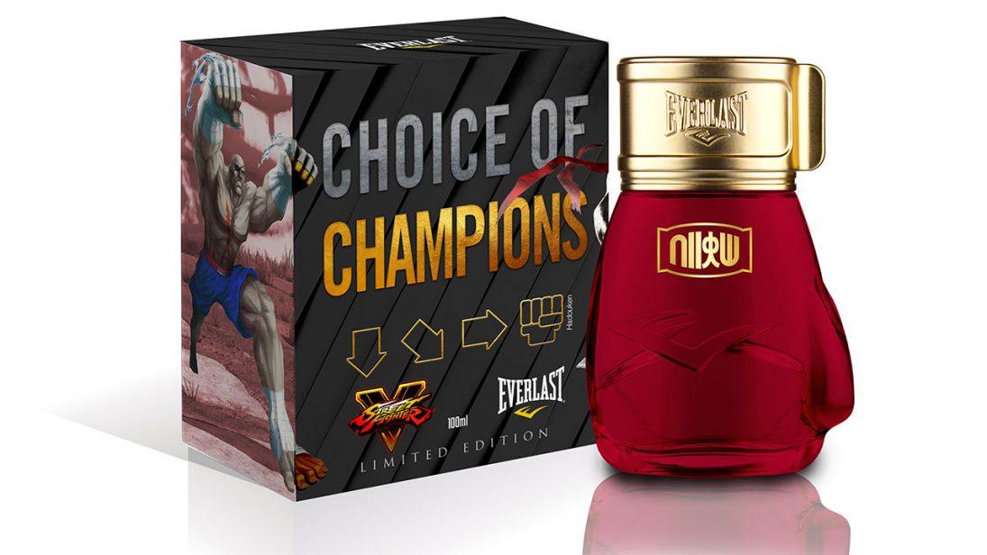 Perfumes inspirados em Street Fighter chegam ao Brasil