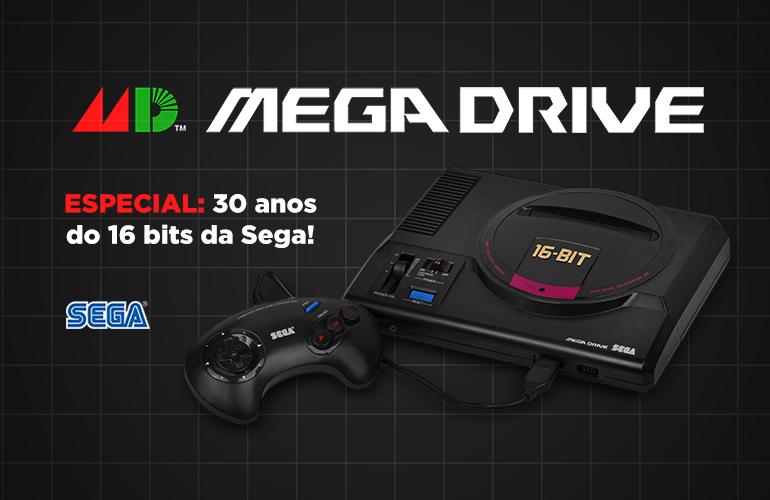 Parabéns Mega Drive! – 30 Anos de pura nostalgia e diversão!