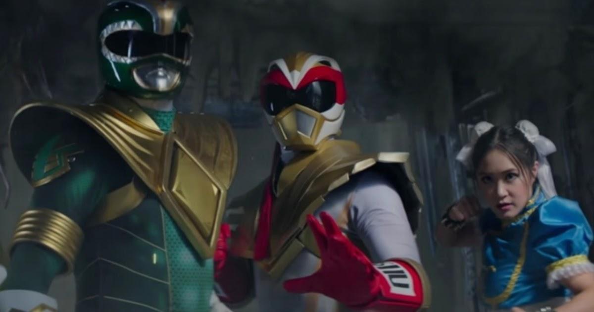 Power Rangers encontra Street Fighter em curta-metragem