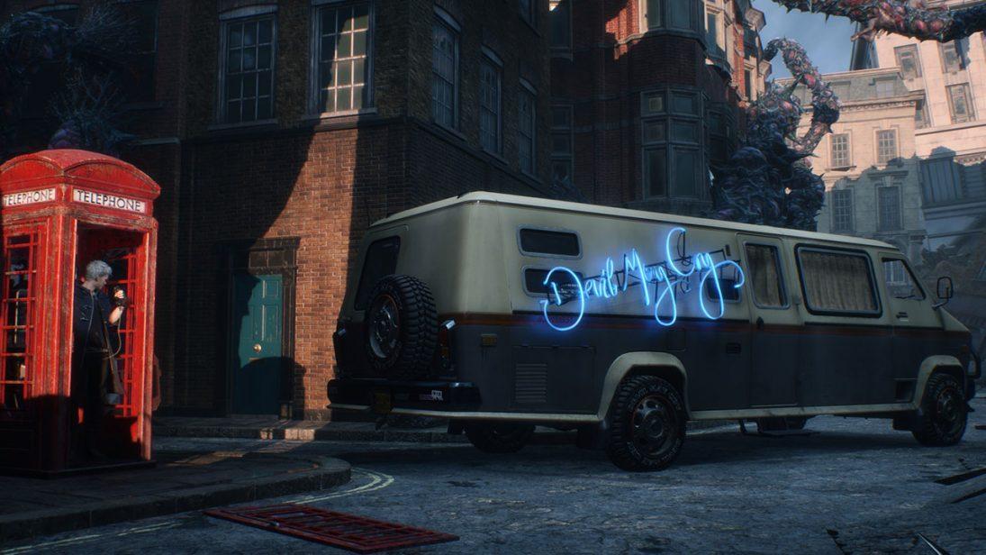 Devil May Cry 5 terá edição de colecionador com réplica do furgão presente no game