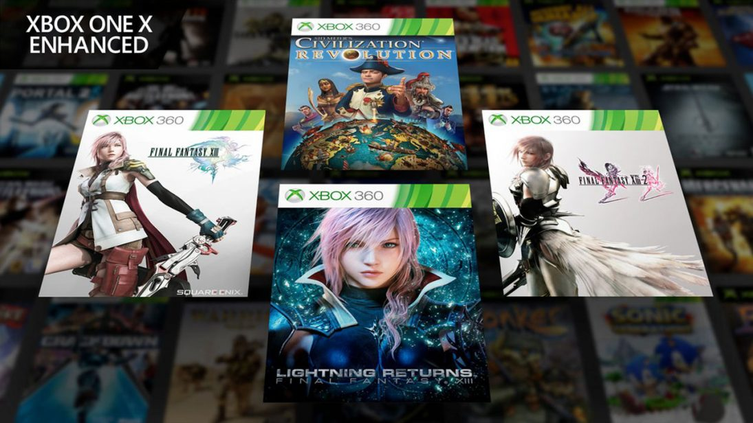Trilogia Final Fantasy XIII ganhará retrocompatibilidade com Xbox One