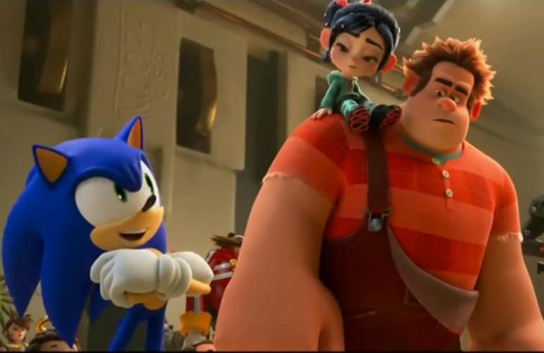 """Sonic explica o que é a internet em """"WiFi Ralph: Quebrando a Internet"""""""
