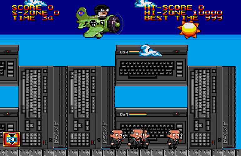 Bomb on Basic City SE, novo jogo indie para Mega Drive, inicia pré-venda