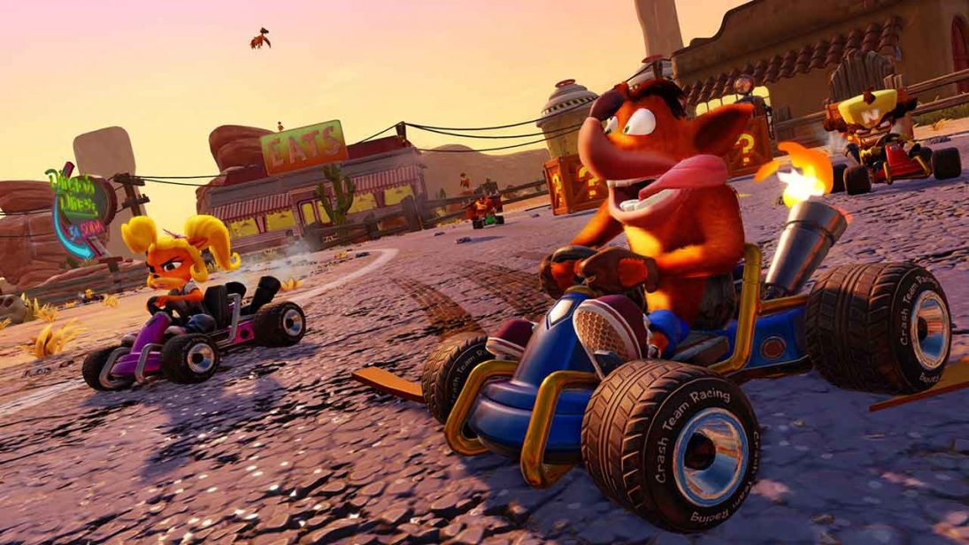 Crash Team Racing Nitro-Fueled entra em pré-venda nos consoles por R$ 180