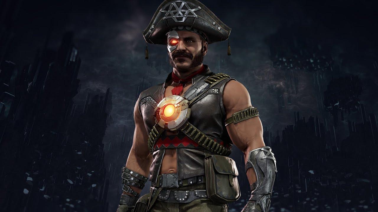 Mortal Kombat 11 - Kano Cangaceiro Skin - Imagem do jogo