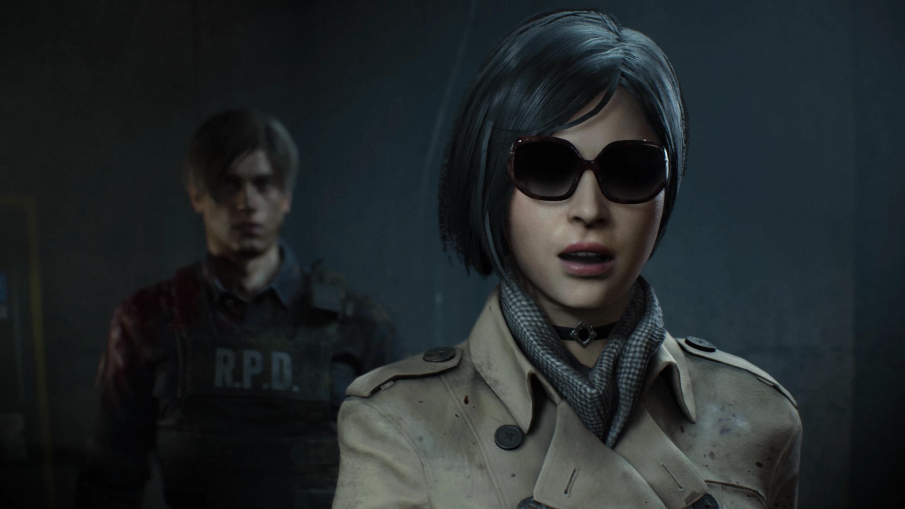 Resident Evil 2 - Leon e Ada