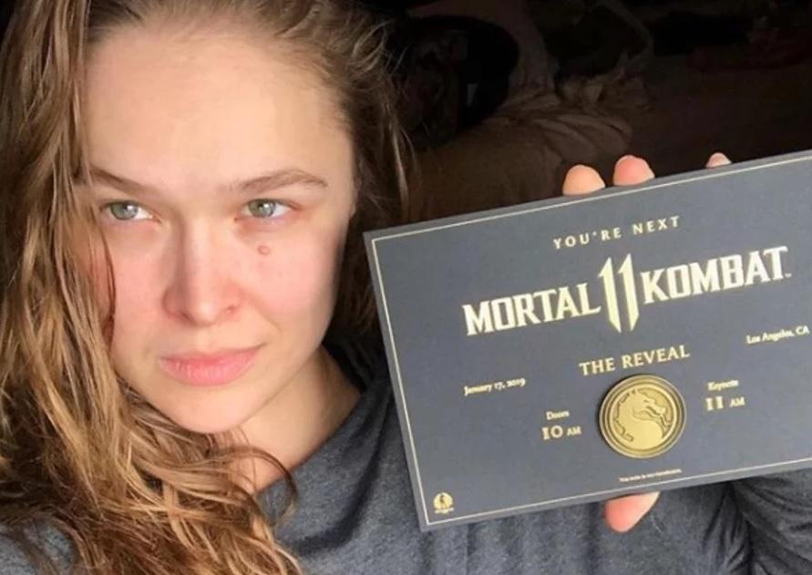 Ronda Rousey participará do MK Day
