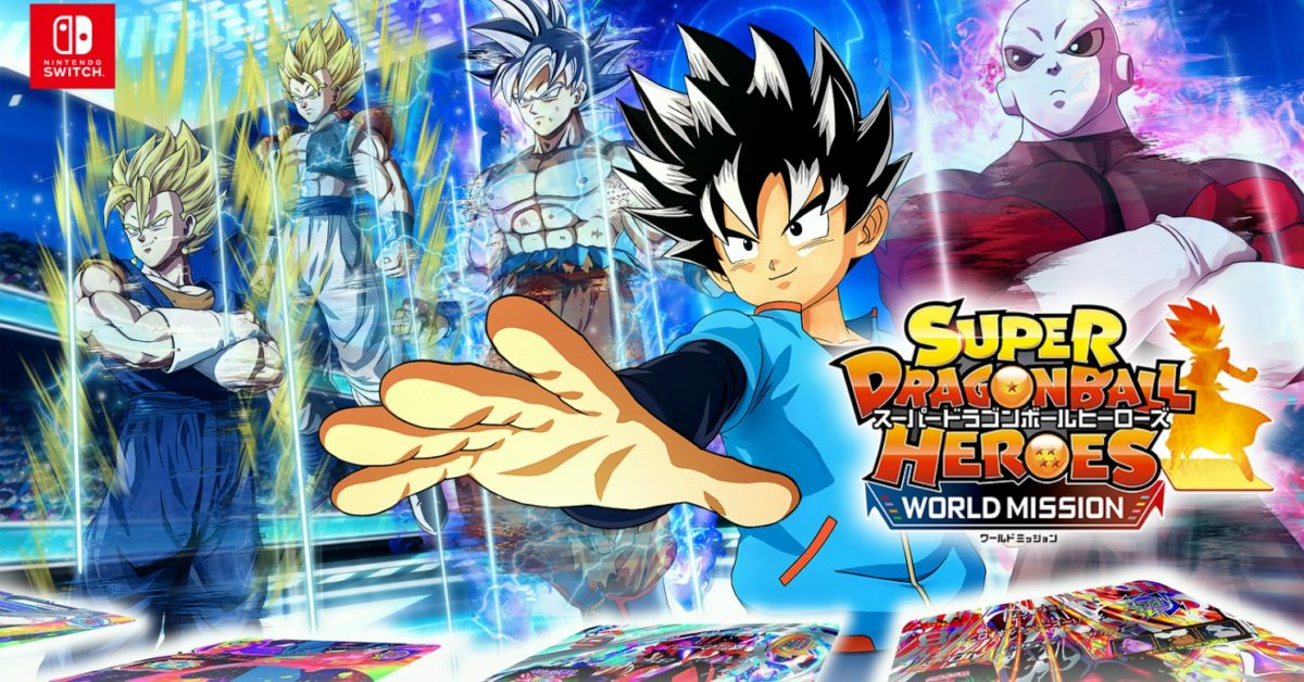 """Super Dragon Ball Heroes: World Mission"" será lançado para o Nintendo Switch e PC"