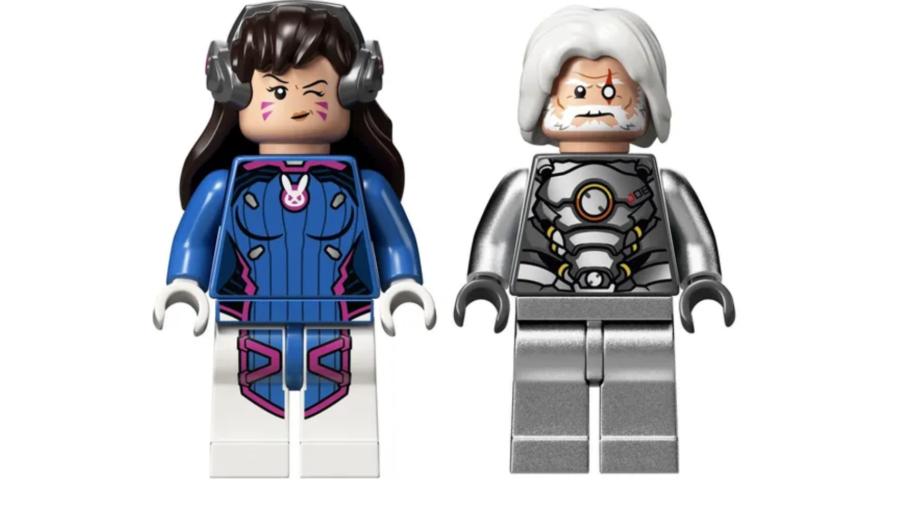 É difícil sair da infância! Conjuntos de Lego Overwatch já estão disponíveis no Brasil