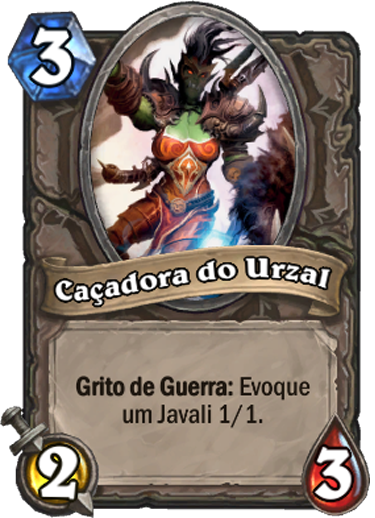 Caçadora do Urzal - Card