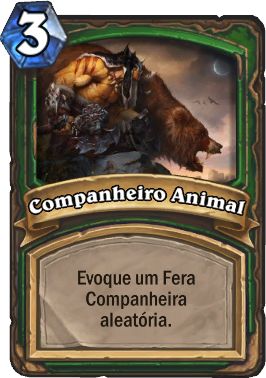 Companheiro Animal - Card de Hearthstone