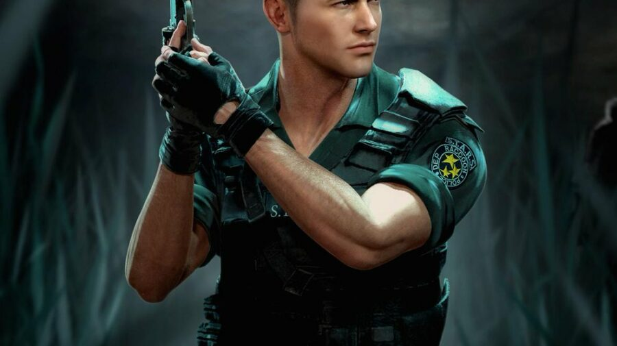 "Fã recria Chris Redfield, de ""Resident Evil"", com base em seu visual original"