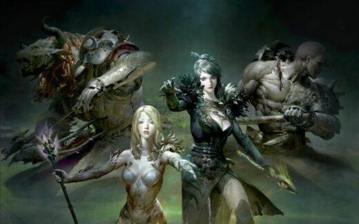 Guild Wars 2 Living World KeyArt
