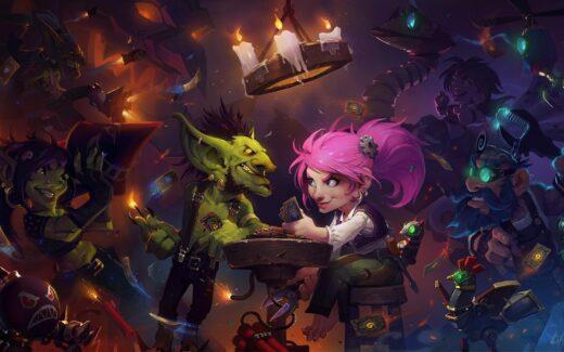 Hearthstone Goblins vs Gnomes - Topo