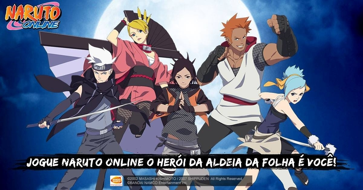 Naruto Online Imagem 02