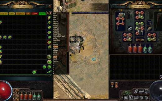 Path of Exile Stash