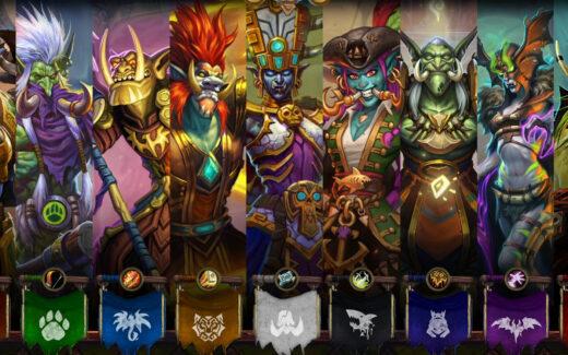 Personagens do Ringue do Rastakhan Imagem Topo 02