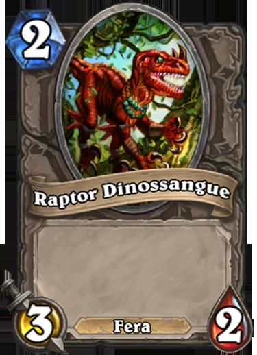 Raptor Dinossangue Card