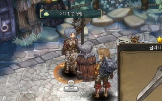 Tree of Savior - NPC e Personagem