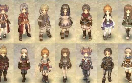 Tree of Savior - Personagens e Classes