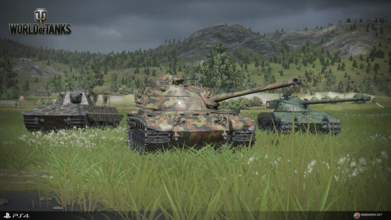 World of Tanks - Imagem do jogo no PS4