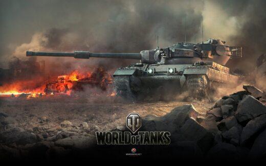 World of Tanks - Render Screen com tanque