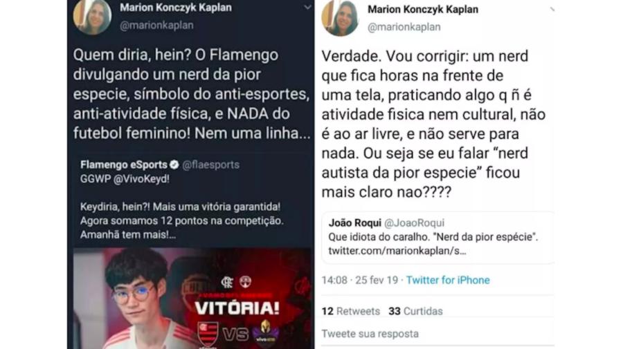 """Conselheira do Flamengo critica próprio time de League of Legends: """"nerds da pior espécie"""""""