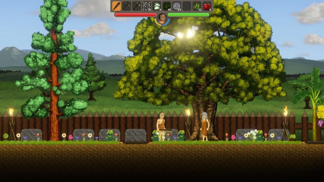 """Conheça """"Rise of Ages"""", novo game brasileiro de sobrevivência 2D"""