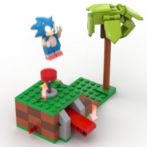 """Coleção tematizada de Lego, com personagens de """"Sonic the Hedgehog"""", pode ser lançada caso os fãs queiram!"""