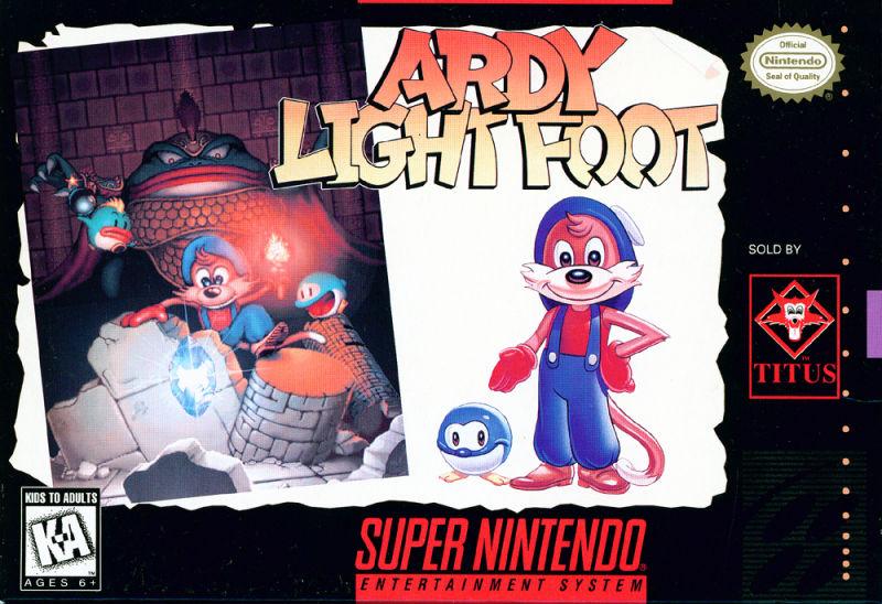 Jogo de plataforma lançado em 1993