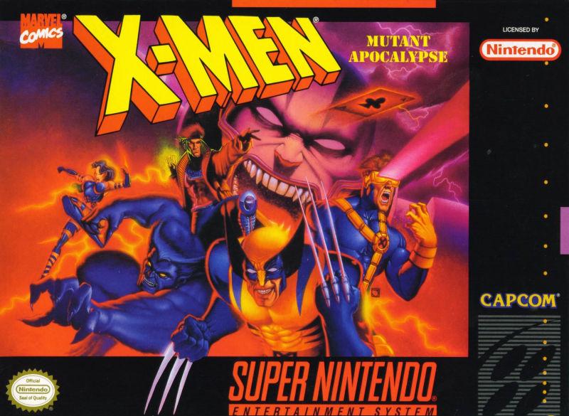 Um dos melhores jogos dos mutantes da Marvel, lançado exclusivamente para o SNES