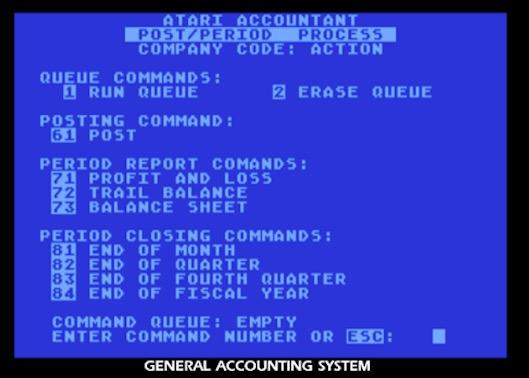 O Contador – Conheça o software 8 bits mais caro da Atari 401