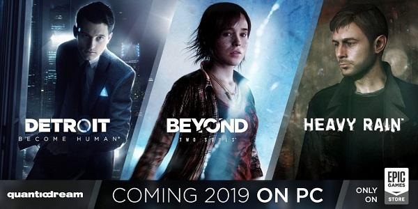 Jogos da Quantic Dream's para PS3 e PS4 serão lançados para PC