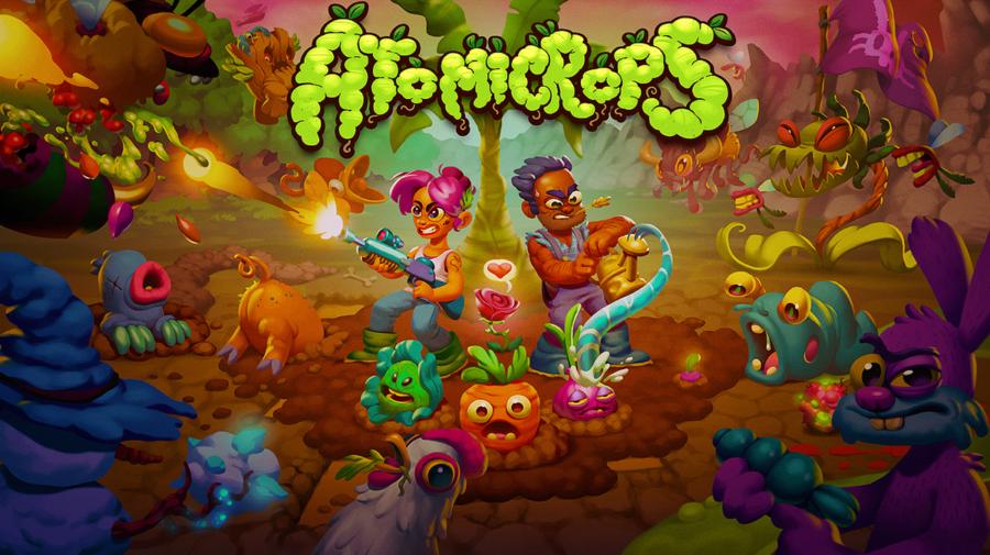 """""""Atomicrops"""" - Uma interessante mistura entre simulador de fazendas e jogo de tiro"""