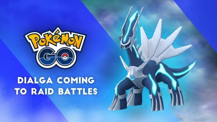 """Dialga poderá ser desafiado em Raids de """"Pokémon GO"""""""