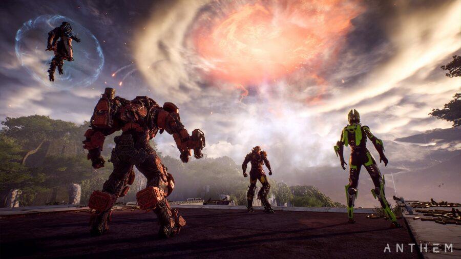 """Jogadores de """"Anthem"""" afirmam que a versão de PS4 está travando e """"brickando"""" seus consoles"""