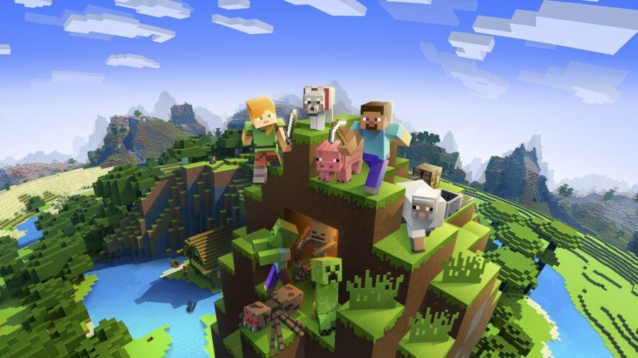 """Nome de criador de """"Minecraft"""" é removido do menu principal"""