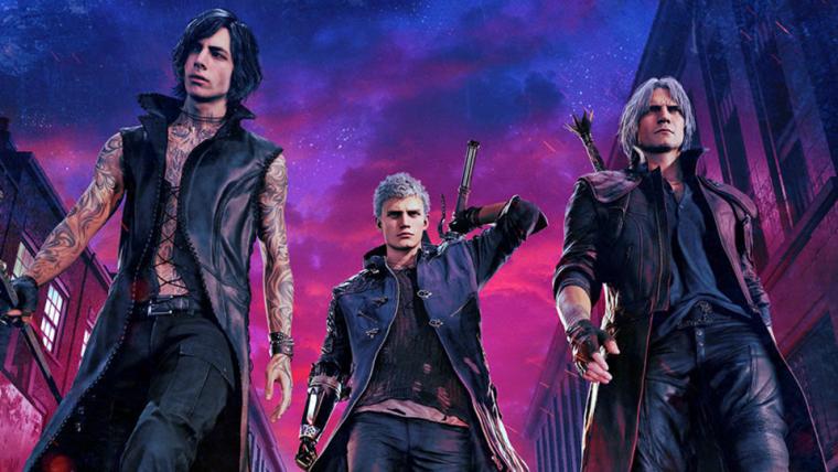 """Conheça os atores que ajudaram a dar vida para os personagens de """"Devil May Cry 5"""""""