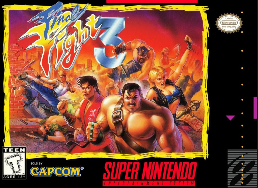 Jogo da Capcom, inspirado nos fliperamas e versão exclusiva do SNES