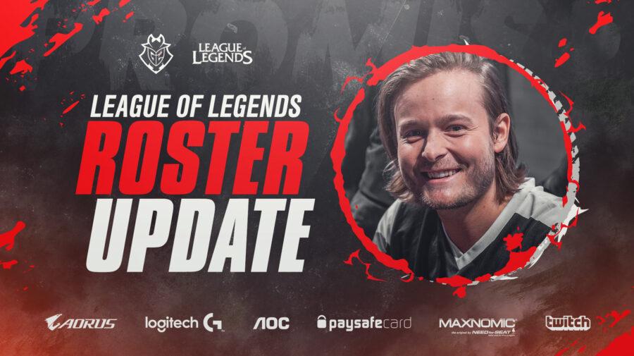 League of Legends: Promisq deve entrar no lugar de Mikyx na G2 pelo resto da temporada