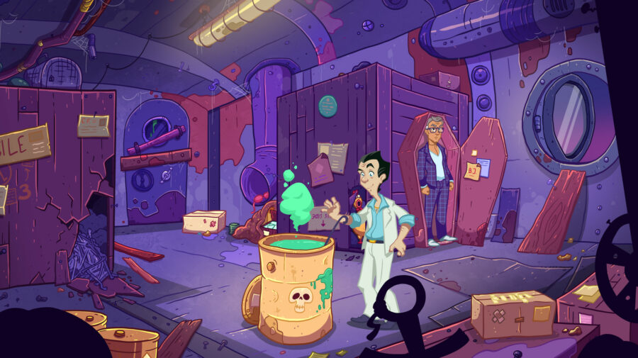 """Leisure Suit Larry: Wet Dreams Don't Dry"" será lançado para PS4 e Switch ainda neste ano"